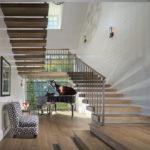 лестница на второй этаж в частном доме идеи интерьер