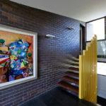 лестница на второй этаж в частном доме дизайн