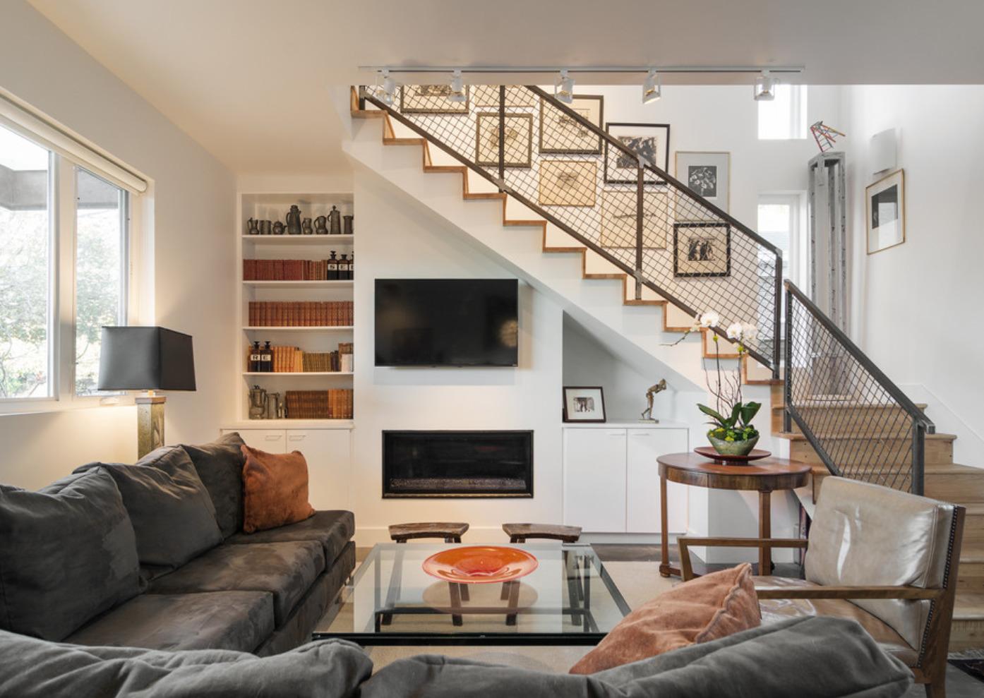 лестница на второй этаж в частном доме дизайн идеи