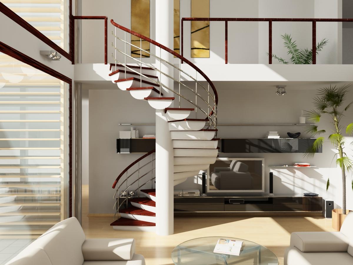 лестница на второй этаж в частном доме фото