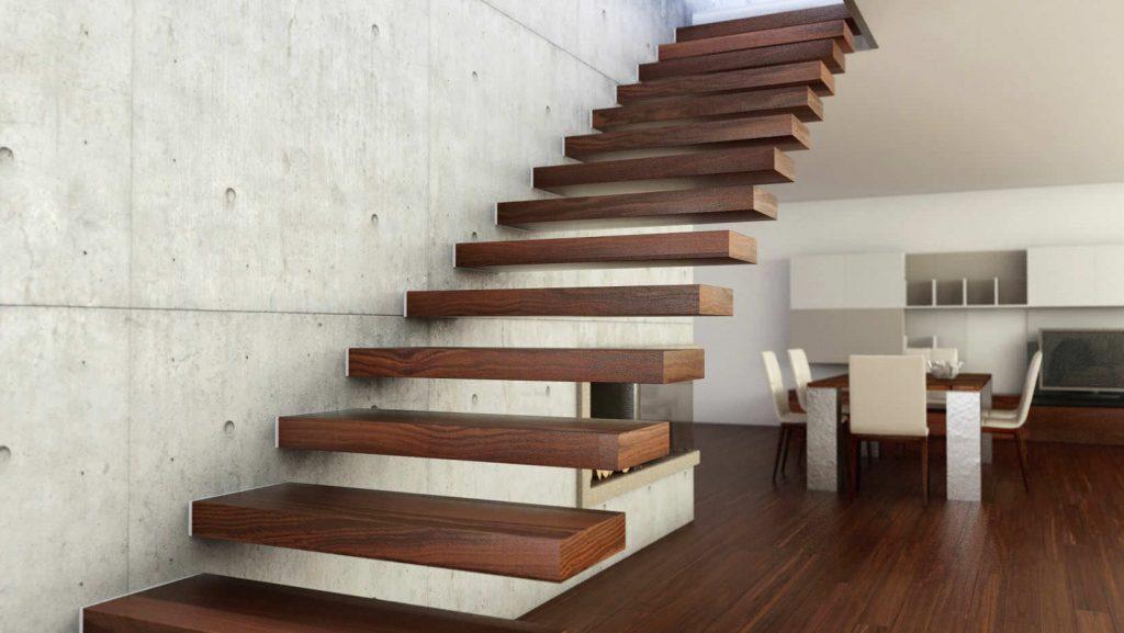 лестница на второй этаж в частном доме идеи