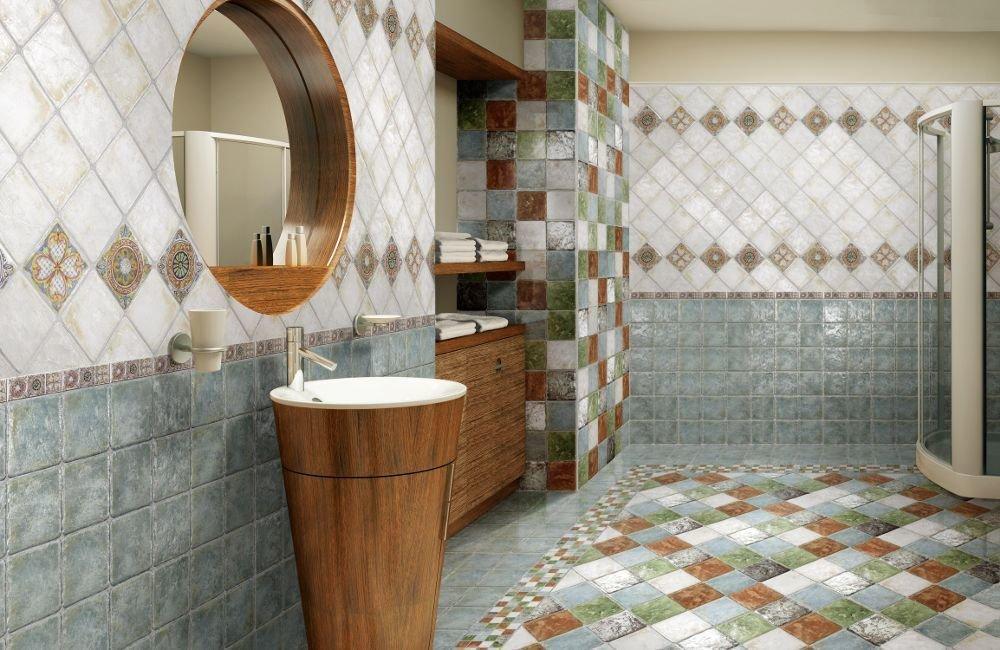 напольная плитка для ванной текстурная