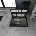напольный люк в подвал интерьер фото