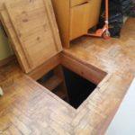 напольный люк в подвал виды