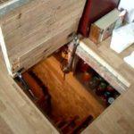 напольный люк в подвал варианты декора