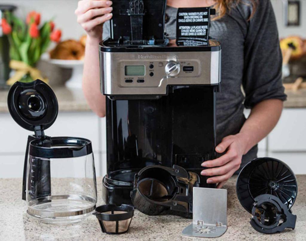 очистка кофемашины