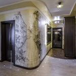 отделка прихожей и коридора фото