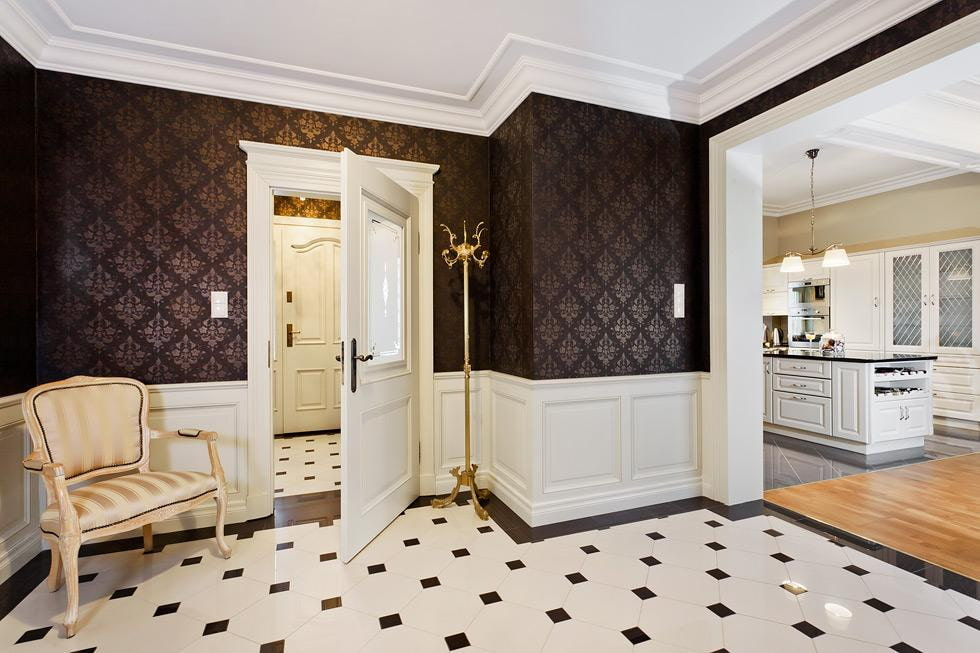 топтания, фотографии отделки коридора багетом фасад позволяет