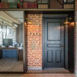 отделка входной двери фото декор