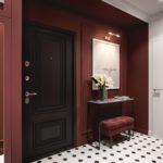 отделка входной двери идеи декора