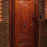 отделка входной двери интерьер фото