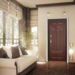 отделка входной двери идеи интерьер
