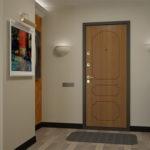 отделка входной двери идеи оформления