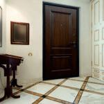 отделка входной двери идеи вариантов