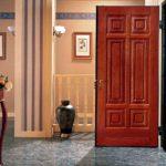 отделка входной двери фото виды