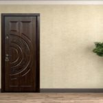 отделка входной двери виды идеи