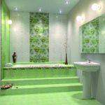 плитка для ванной комнаты варианты