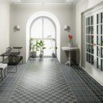 плитка на пол в коридор фото дизайна