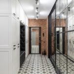 плитка на пол в коридор лофт