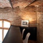 потолок в стиле лофт кирпичный фото