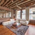потолок в стиле лофт в квартире идеи дизайна