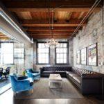 потолок в стиле лофт в квартире декор
