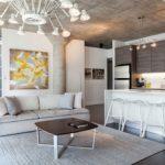 потолок в стиле лофт в квартире фото декор