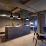 потолок в стиле лофт в квартире фото декора