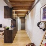 потолок в стиле лофт в квартире интерьер фото