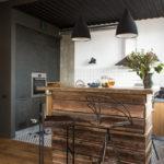 потолок в стиле лофт в квартире оформление