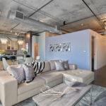 потолок в стиле лофт в квартире идеи
