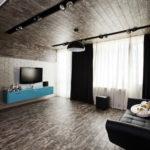 потолок в стиле лофт в квартире оформление идеи