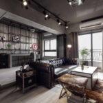 потолок в стиле лофт в квартире варианты