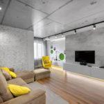 потолок в стиле лофт в квартире фото вариантов