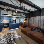потолок в стиле лофт в квартире виды фото