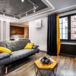потолок в стиле лофт в квартире виды идеи