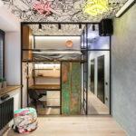 потолок в стиле лофт в квартире идеи виды