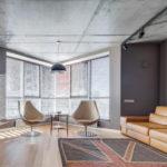 потолок в стиле лофт в квартире виды декора