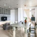 потолок в стиле лофт в квартире дизайн