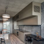 потолок в стиле лофт в квартире фото дизайн