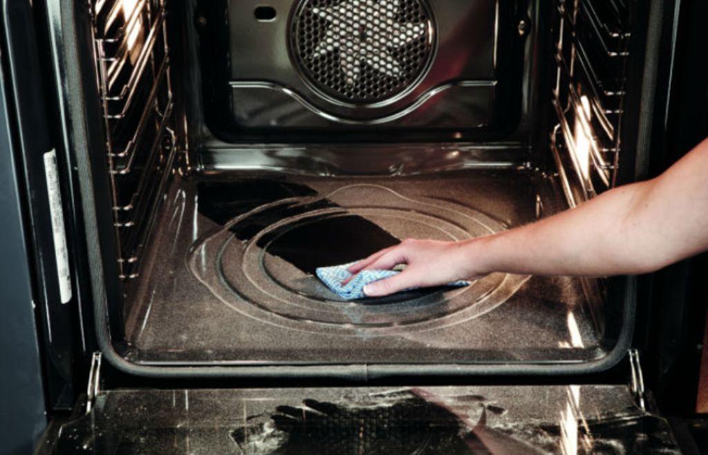 пиролитический способ очистки духовки