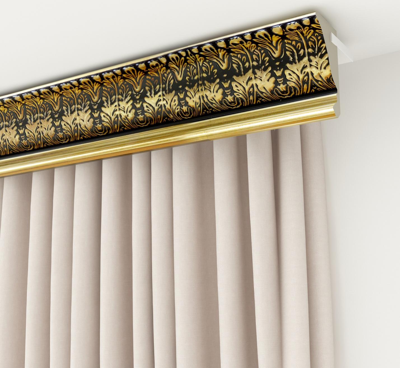 шторы с багетом