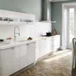 современная белая кухня идеи дизайна