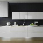 современная белая кухня фото декор
