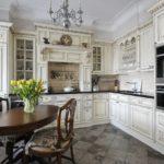 современная белая кухня фото оформление