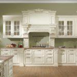 современная белая кухня фото оформления