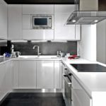 современная белая кухня фото дизайн