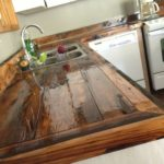 столешница из дерева для кухни виды идеи