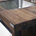 столешница из дерева для кухни фото видов