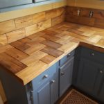 столешница из дерева для кухни фото идеи